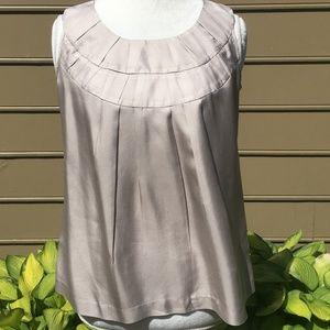 ANTHROPOLOGIE SINE silk sleeveless top